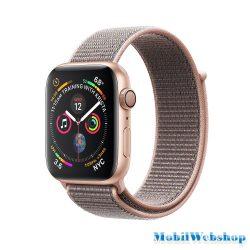 Apple Watch Series 4 Sport 40mm (GPS only) Aluminium Gold Sport Loop Band Pink MU692