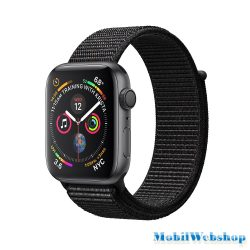 Apple Watch Series 4 Sport 40mm LTE Aluminium Grey Sport Loop Band MU672