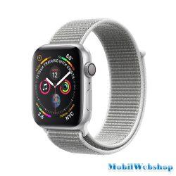 Apple Watch Series 4 Sport 40mm LTE Aluminium Silver Sport Loop Band MU642