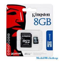 Kingstone Micro SD HC 8gb bliszterben